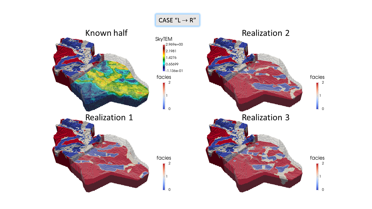 Stochastic Simulation by Image Quilting of Process-based Geological Models